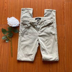 Dex Skinny Pants Pale Green